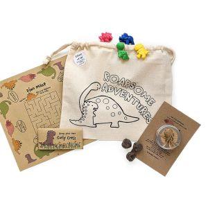Sprinkles Kids Plastic-Free Party Pack - Dinosaur