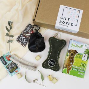 Eco Friendly Gift Box / Gift set for Eco Conscious Dog - Main