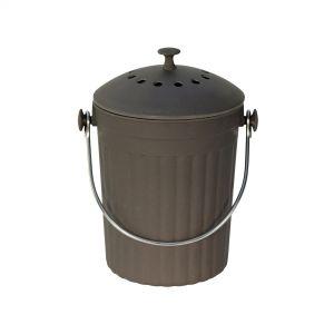Slate Grey Bamboo Fibre Compost Pail