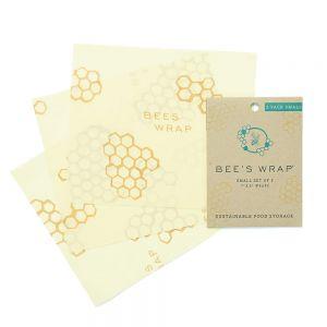 Bee's Wrap - Set of 3 - Small/Medium/Large Honeycomb Design