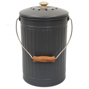 Charcoal/Slate/Grey 7L Compost Pail