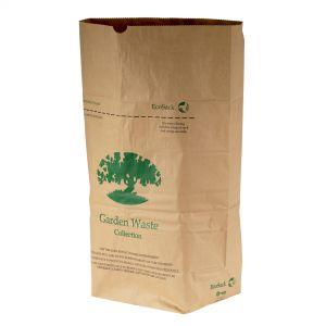 75L EcoSack Paper Compostable Garden Waste Sacks