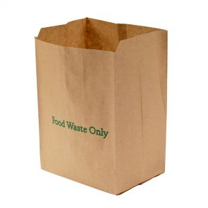 8L EcoSack Paper Compostable Caddy Liners (Small)