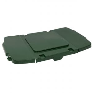 Green Coral Hard Plastic Flexi-Lid for Outdoor Recycling Boxes
