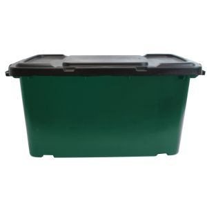 Coral Recycling Box - 44L - Green AND Black Lid