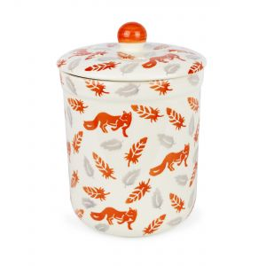 Haselbury 3L Ceramic Compost Caddy/Food Bin - Fox & Feathers