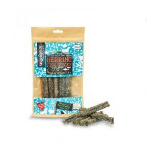 Green & Wilds Eco Dog TREATS - Herring Fish Sticks