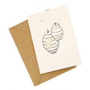 Honey Pot Design - Wildflower Plantable Card