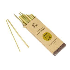 Huski Home Biodegradable Bullrush Grass Drinking Straws