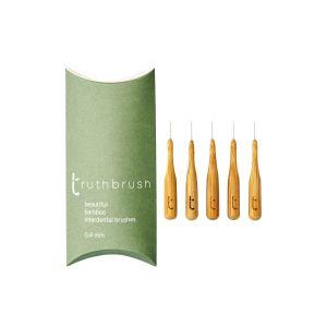 Truthbrush Bamboo Interdental Brushes 0.4mm (Pack of 5)