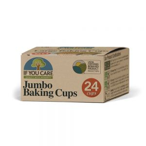 If You Care Compostable Jumbo Baking Cupcake/Muffin Cases