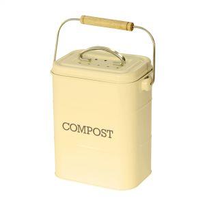 Nostalgia Compost Caddy - Antique Cream