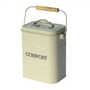 Nostalgia Compost Caddy - French Grey
