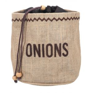 Natural Elements Eco-Friendly Onion Jute Sack
