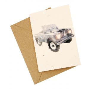 Landrover Design - Wildflower Plantable Card