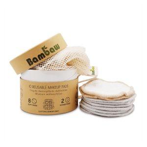 Bambaw Reusable Makeup Pads - Pack of 10