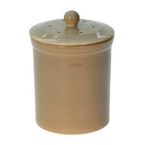 Melbury Ceramic Compost Caddy - Buff