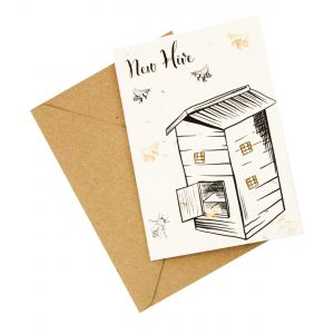 New 'Hive' Home - Wildflower Plantable Card