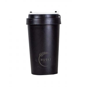 Huski Home Reusable Travel Cup - Obsidian Black (400ml)