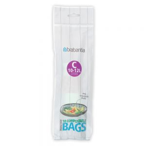 10-12 L Brabantia PerfectFit Bags - Code C