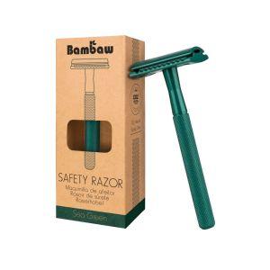 Bambaw Metal Eco Safety Razor - Sea Green