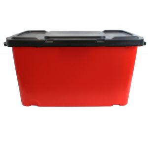 Coral Recycling Box - 44L - Red AND Black Lid
