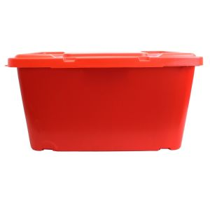 Coral Recycling Box - 44L - Red AND Red Lid