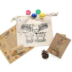 Sprinkles Kids Plastic-Free Party Pack - SAFARI