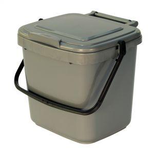 7L Waste Caddy - Silver Grey
