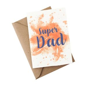 Super Dad (Father's Day) - Wildflower Plantable Card