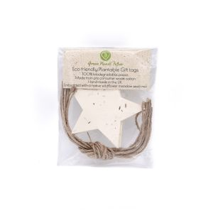 Star (Pack of 10) - Wildflower Seed Plantable Gift Tags