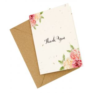 Thank You - Wildflower Plantable Card
