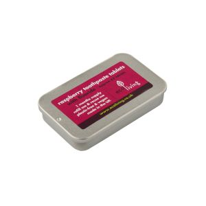 Eco Living Toothpaste Tablets - Raspberry
