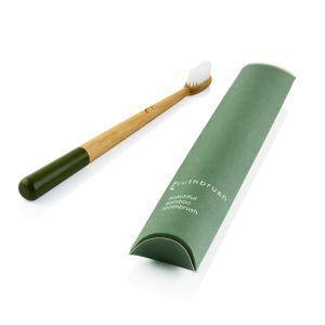 Truthbrush Medium Caster Oil Bristles Toothbrush - Grey