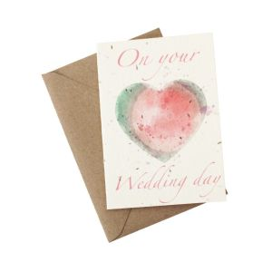 On Your Wedding Day - Wildflower Plantable Card