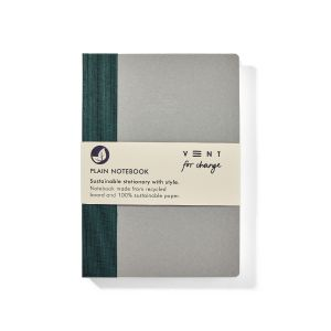 VENT:  Sustainable Notebook A5 Write Range Green (Plain Paper)