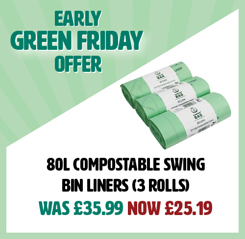 Green Friday BioBag 80L 3 Roll Sale
