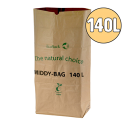 140l compostable small wheelie bin liners