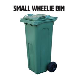 140l small wheelie bin