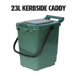 23l kerbside compost caddy