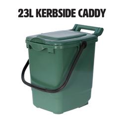 23l kerbside compost caddy