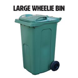 240l large wheelie bin