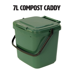 7l food waste compost caddy